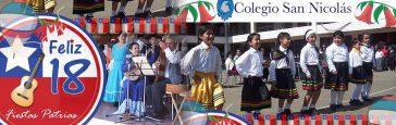 Actividad – Fiestas Patrias – Colegio San Nicolás Villa Alemana