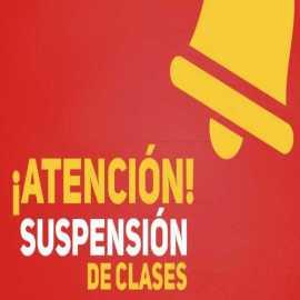 Suspención de clases Lunes 23 de octubre, 2017 Villa Alemana.