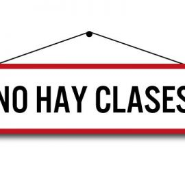 Suspensión de Clases Por Reflexión Docente y Día del Profesor