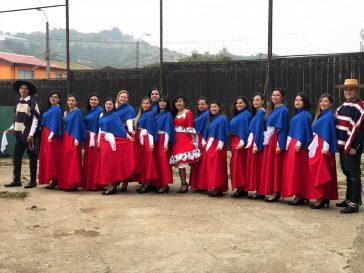 Acto de Fiestas Patrias 2018